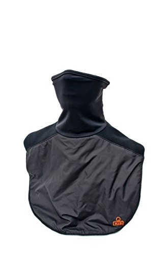 Chest Warmer (Dickie Plus Chest Neck Warmer Gaiter by Striker Brands | Windproof Ski Mask – Black)