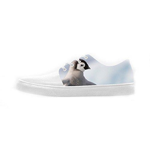 Women's Scarpe Custom Canvas Shoes Pinguino Scarpe Le vwvSxX5U