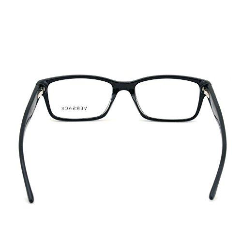 Versace Men's VE3198A Eyeglasses Black 55mm by Versace (Image #3)