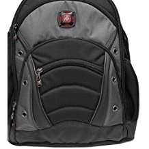 """15.6"""" Gray Notebook Backpack"""