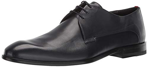 Hugo Boss Men's Appeal Derby Leather Dress Shoe Oxford Dark Blue 9 M US