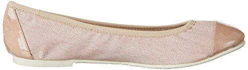 für s 592 Oliver 22118 Damen Pink Rose Ballerinas Comb UpOgpq
