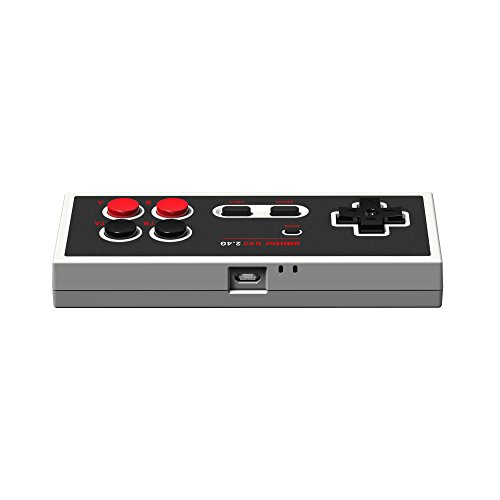Amazon com: 8Bitdo N30 2 4G Wireless Gamepad for NES Classic Edition