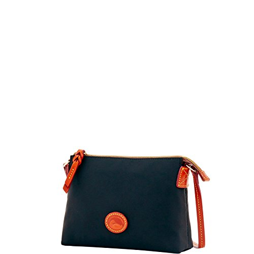 Nylon Shoulder Black Bourke Bag amp; Crossbody Dooney Pouchette qwa4ERv7xT