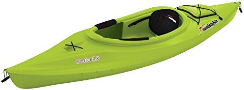 Tandem Sea Kayaks - SUNDOLPHIN Aruba Sit-in Kayak (Citrus, 10-Feet)