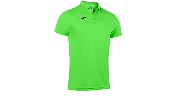 Joma Polo Hobby Verde Fluor m/c para Hombre: Amazon.es: Ropa y ...