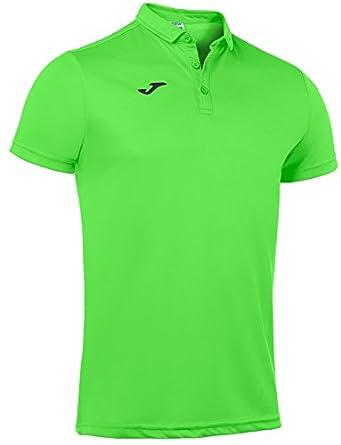 Joma Polo Hobby Verde Fluor m/c para Hombre: Amazon.es: Ropa ...