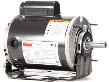 - 1/2 hp Belt Drive Blower Cap Start Motor 1725 RPM 115/208-230V Dayton 1AGG3