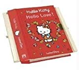 Hello Kitty, Hello Love!: Red Heart Secret Drawer Locked Diary