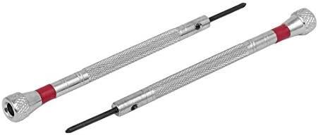 DealMux 1,6 mm Anchura de punta con estrías de la manija del ...
