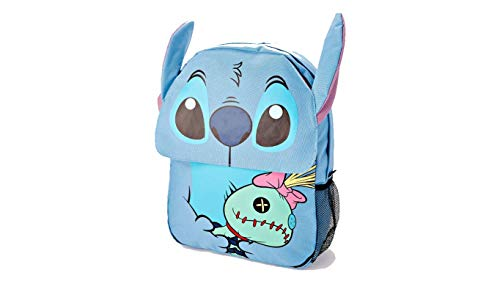 - 3D Scrump and Stitch Backpack - Disney Lilo & Stitch Back to School Boo Bag