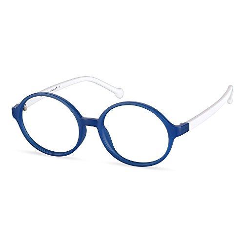 LifeArt Blue Light Blocking Glasses,Cut UV400 Transparent Lens,Computer Glasses,Anti Eyestrain/Anti Scratch/Anti Smudgy,Sleep Better for Kids(LA_Blue,0.00,No Magnification)