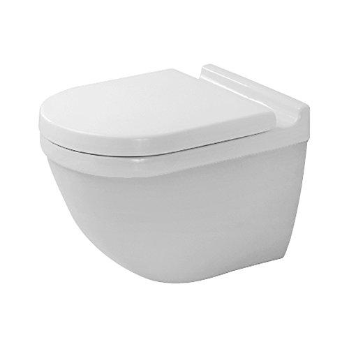 Duravit 2225090092 Toilet Bowl Wall Mounted Starck 3 (Washdown Faucet)
