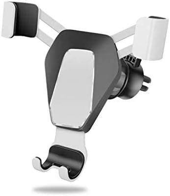 自動車電話ホルダーエアアウトレット多機能ユニバーサルカーナビゲーションクリエイティブカーインサイドスナップオンサポート (色 : シルバー しるば゜)