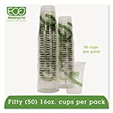 GreenStripe Renewable Resource Cold Drink Cups 16 oz Clr 50/Pack 10 Packs