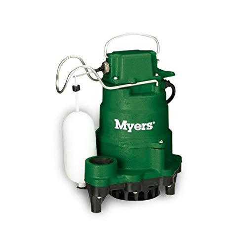 Myers MC105020 1/3 & 1/2 HP Submersible Cast Iron Sump ()