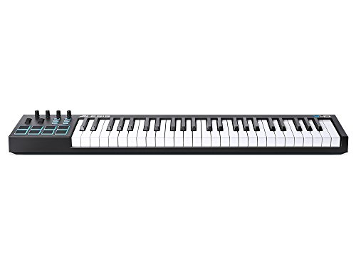 Alesis V49   49-Key USB MIDI Keyboard & Drum Pad Controller (8 Pads/4 Knobs/4 Buttons)