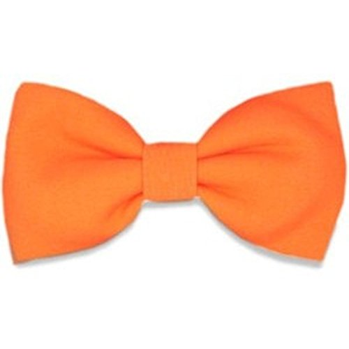 COLOURS WEDDING COLOURED FASHION PLAIN PRE 16 ORANGE BOW TIED BRIGHT TIES AVAILABLE vEqw8aPnx