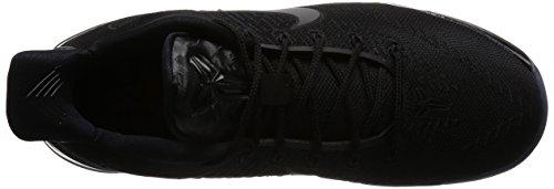 Nike Mens Kobe Annuncio Pallacanestro Scarpe Nero / Nero-gomma Marrone Chiaro