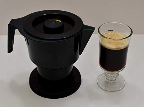 (Cuisine Magic Microwave Coffee Maker - Percolator, Tea and Cocoa Maker - BPA Free - Dishwasher Safe - Portable)