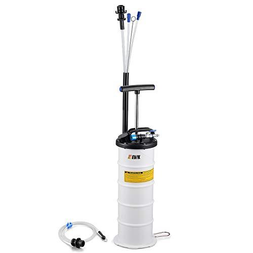 EWK Pneumatic/Manual 6.5 Liter Oil Changer Vacuum Fluid Extractor Pump Tank Remover + Brake Bleeding Hose by EWK (Image #7)