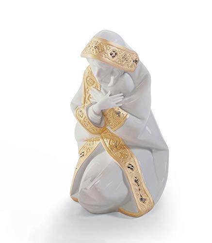 (Lladro Porcelain Figurine Mary Re Deco)