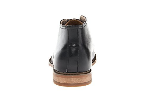 Deer Stags Mens Seattle lace up Black Leather Boot M10