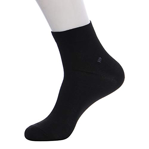 Men Winter Casual Soft Ankle-High Arcylic Warmer Socks By VECDUO