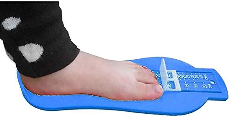 Justdodo En plastique 20CM Enfants Infantile B/éb/é Pied Mesure Jauge Chaussures Taille Mesure R/ègle Outil B/éb/é Chaussures Mesure Jauge Dispositif Bleu