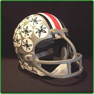 UPC 013032051940, Ohio State Buckeyes 1968-Current '1974 & 1975 Heisman - Archie Griffin' Authentic Vintage Full Size Helmet