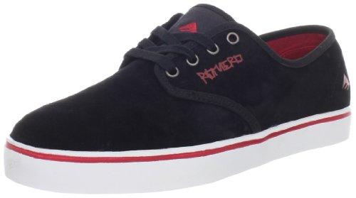 Emerica - Zapatillas de deporte de piel para hombre Black/Red/White