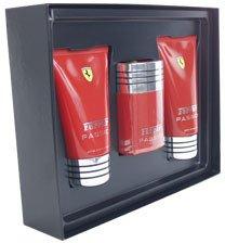 Ferrari Passion by Ferrari for Men - 3 Pc Set Set 1.7oz edt spray, 5 oz body lotion, 3.3oz after shave balm