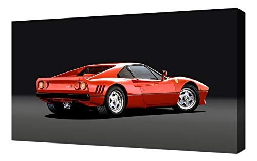Lilarama USA 1984-Ferrari-288-GTO-V2 Canvas Art Print - Wall Art - Canvas Wrap ()