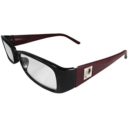 NFL Team Color Reading Glasses (+1.50, Washington Redskins)