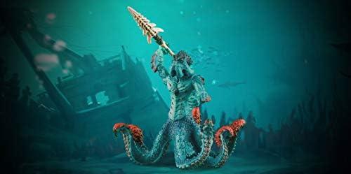 シュライヒ エルドラド 海の怪物クラーケンとマジカル兵器 フィギュア 42449