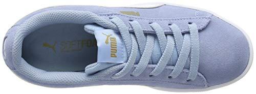 Azul Ac Niñas White Gold Zapatillas puma cerulean Ps 02 metallic Puma Para Vikky UxqwcgTTZ