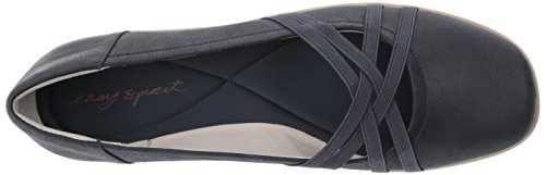 Easy Spirit Women's Aubree2 Flat Navy Fabric clearance shopping online 7w7jX0