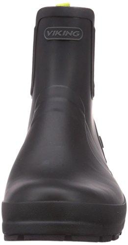 Gomma Black 288 Viking Stivali di Bergen Uomo Nero Lime twRqpYw