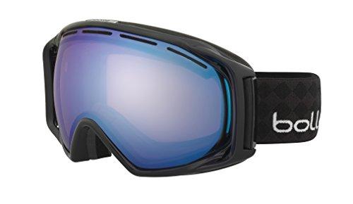 Bolle Gravity Modulator Goggles, Two Tones Black, Vermillion Blue - Goggles Vermillion Bolle Modulator Ski