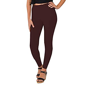 Stretch is Comfort Cotton Girl's and Women's Footless Leggings Made in The USA