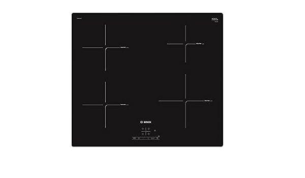 Bosch PUE611BF1J hobs Negro Integrado Con - Placa (Negro ...