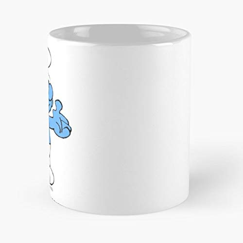 (Smurf Trump Blue White - Best Gift Coffee Mugs 11 Oz Father Day)