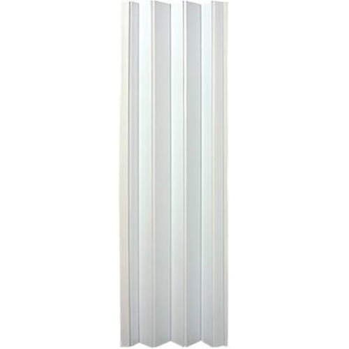 Spectrum OK32-3680F Oakmont 32'' to 36'' x 80'' Accordion Folding Door, Frost White by LTL Home Products