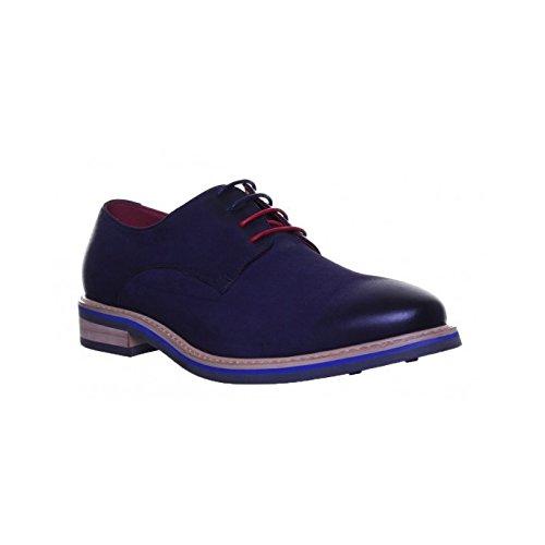 Chaussures à Reece de GF1 pour Justin homme ville lacets Navy UpF1xw