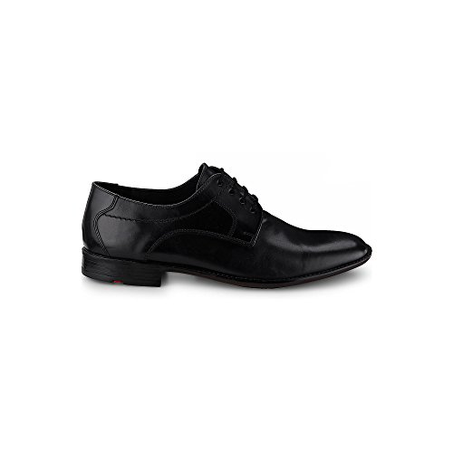 Garvin Klassischer Schwarz Halbschuh 0 Leder Herrenschuh Schwarz Gummisohle aus LLOYD Business mit 5xzwpzqI