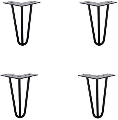 BCX Patas de mesa de metal diy con tornillos libres, patas de mesa ...