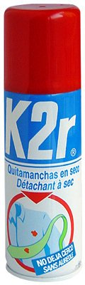 QUITAMANCHAS EN SECO K2R 200 ML
