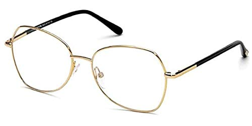 Tom Ford Rx Eyeglasses With Case - FT5248 028 - Gold (53-16-135) (53 16 135)