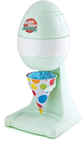 Sweet Treats Snow Cone, Crushed Ice, Slushie Cocktail Maker - Kid Friendly...