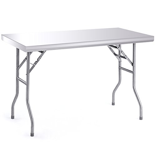 Compare Price To Folding Stainless Steel Table